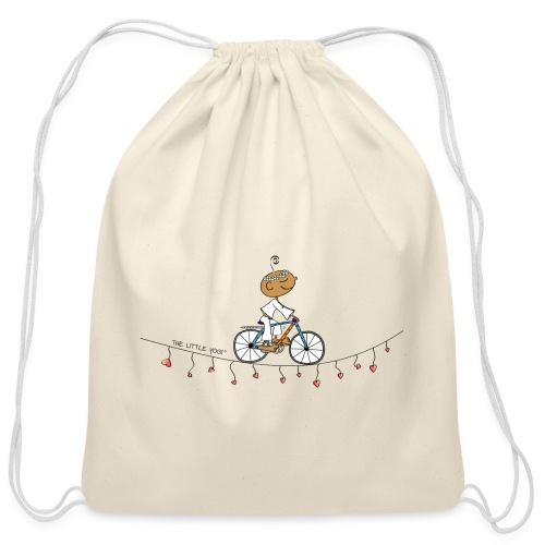 The Way of the Heart - Cotton Drawstring Bag