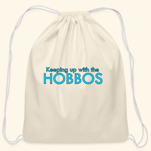 KEEPING UP WITH THE HOBBOS | OFFICIAL DESIGN - Cotton Drawstring Bag