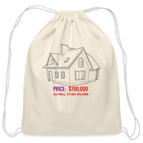 Fannie & Freddie Joke - Cotton Drawstring Bag