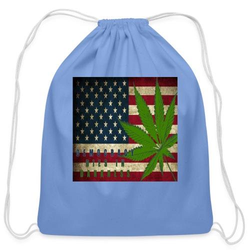 Political humor - Cotton Drawstring Bag