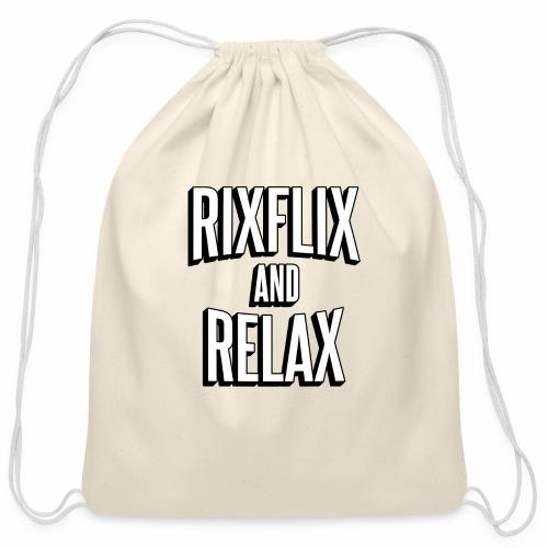RixFlix and Relax - Cotton Drawstring Bag