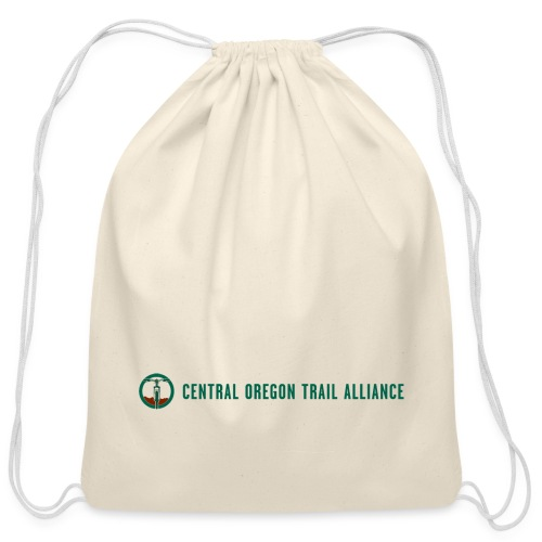2019 COTA horizontal logo - Cotton Drawstring Bag