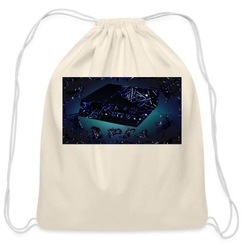 ps4 back grownd - Cotton Drawstring Bag