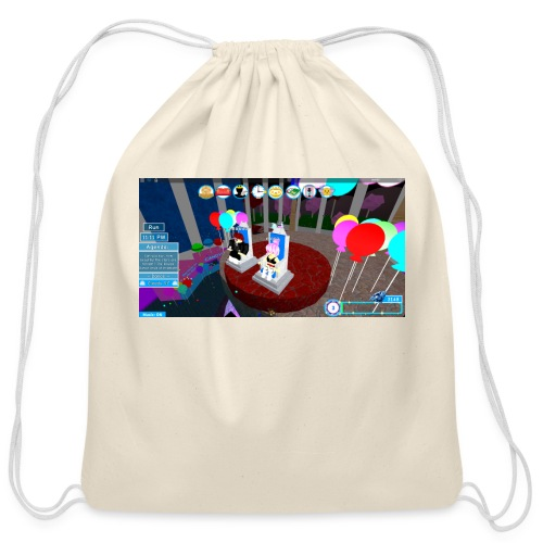 prom queen - Cotton Drawstring Bag
