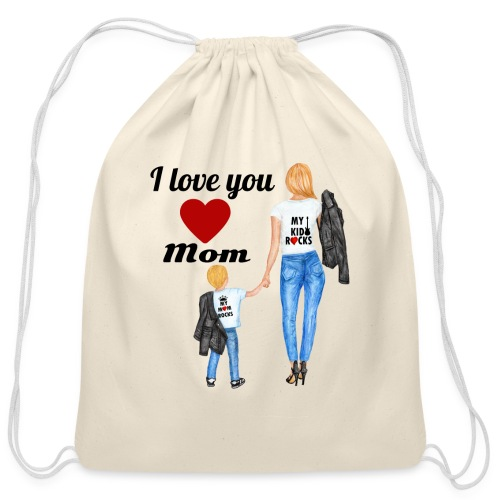Mother's day gift from daughter, Mother's Day Gift - Cotton Drawstring Bag