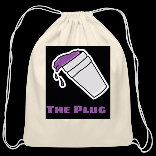 the Plug logo - Cotton Drawstring Bag