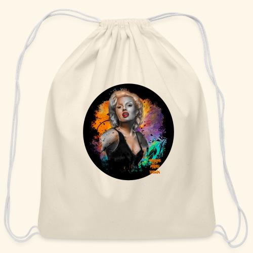 Marilyn Monroe - Cotton Drawstring Bag