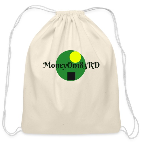 MoneyOn183rd - Cotton Drawstring Bag