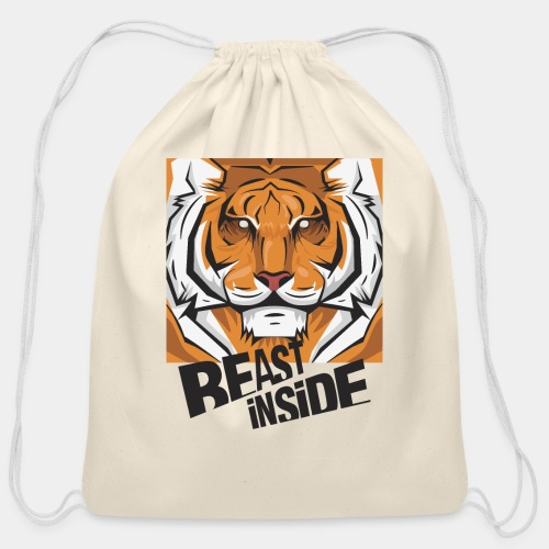 beast - Cotton Drawstring Bag
