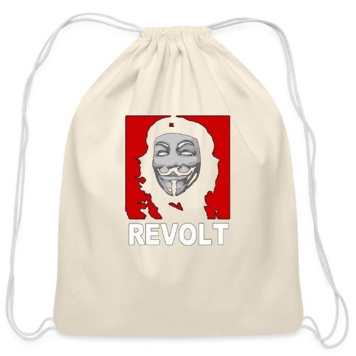 Anonymous Che Revolt Mugs & Drinkware - Cotton Drawstring Bag