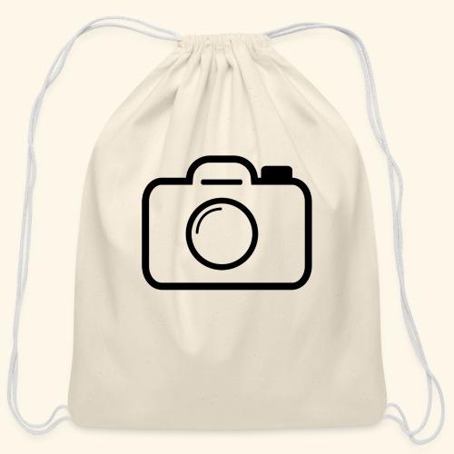 Camera - Cotton Drawstring Bag