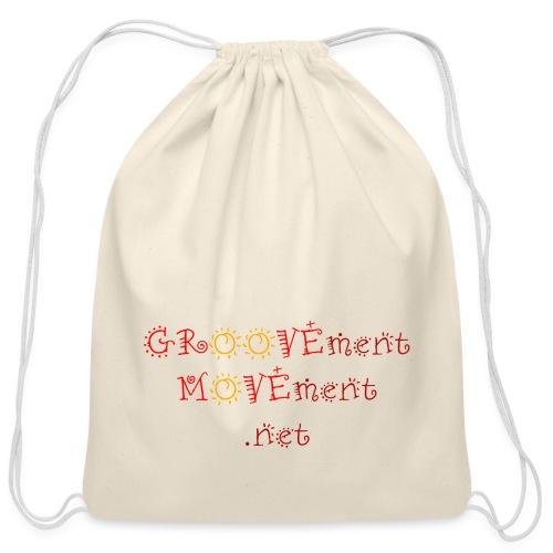 GROOVEment MOVEment 1 - Cotton Drawstring Bag
