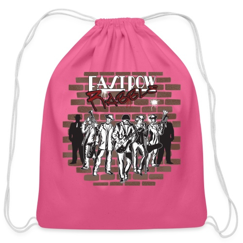 East Row Rabble - Cotton Drawstring Bag