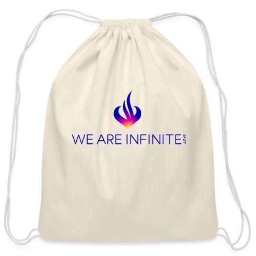 We Are Infinite - Cotton Drawstring Bag