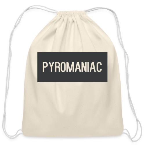 PyroManiac Clothing Line - Cotton Drawstring Bag