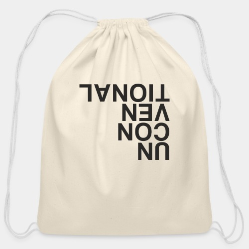 unconventional - Cotton Drawstring Bag