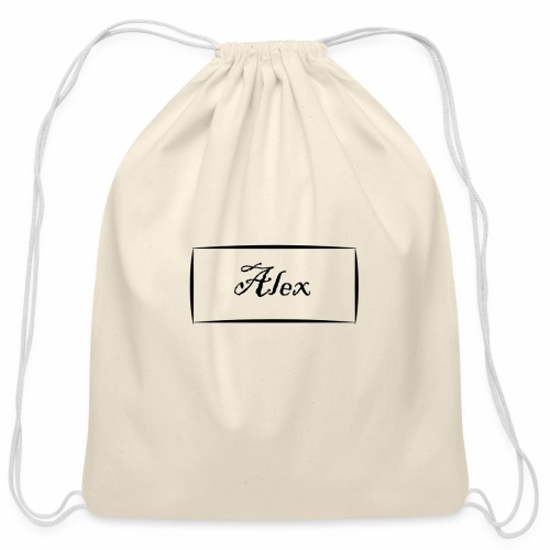 Alex - Cotton Drawstring Bag