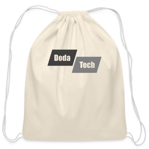 DodaTech Logo - Cotton Drawstring Bag