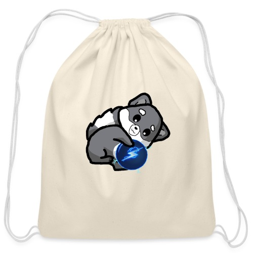 Eluketric's Zapp - Cotton Drawstring Bag