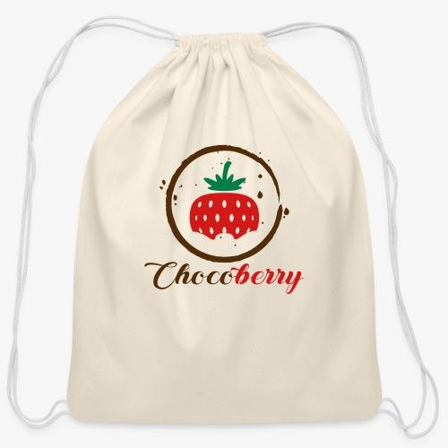 Chocoberry - Cotton Drawstring Bag