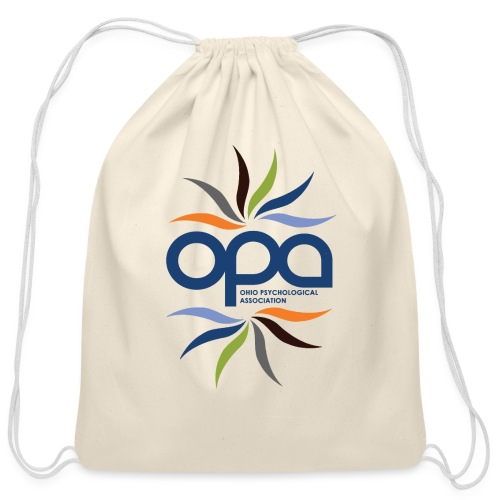 OPA Water Bottle - Cotton Drawstring Bag
