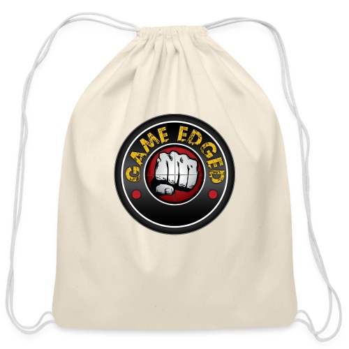 Men's Game Edged Logo Tshirt with So Be It On the - Cotton Drawstring Bag
