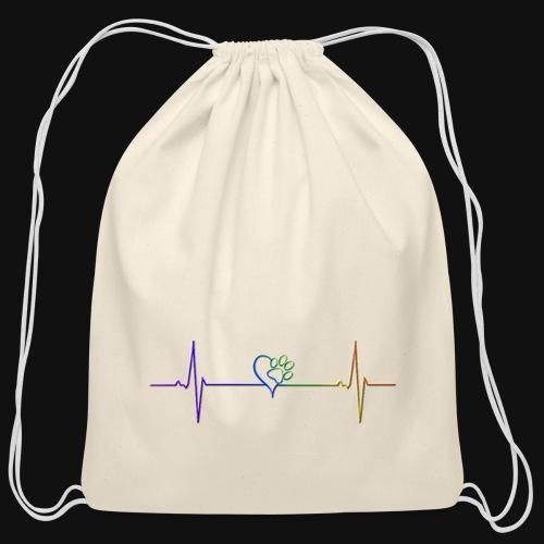 Live & Breathe Dog - Cotton Drawstring Bag