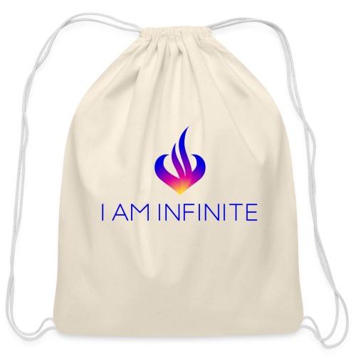 I Am Infinite - Cotton Drawstring Bag