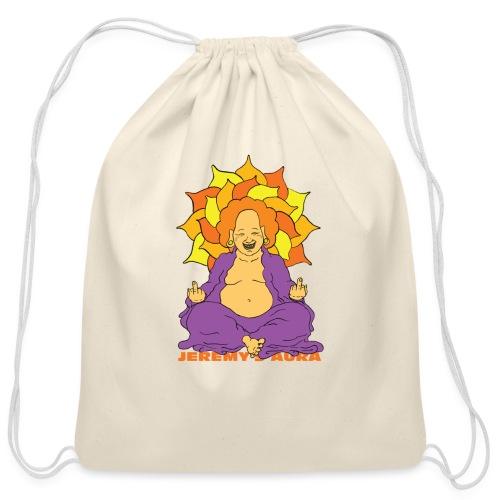 Laughing At You Buddha - Cotton Drawstring Bag