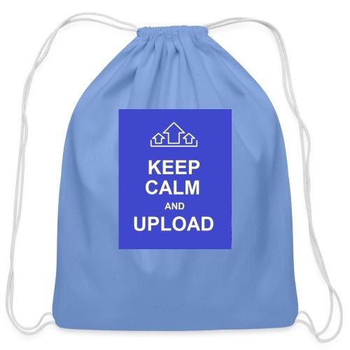 RockoWear Keep Calm - Cotton Drawstring Bag