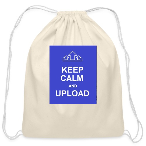 RockoWear Keep Calm - Cotton Drawstring Bag