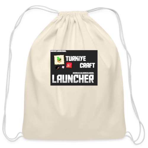 TurkiyeCraft Launcher - Cotton Drawstring Bag