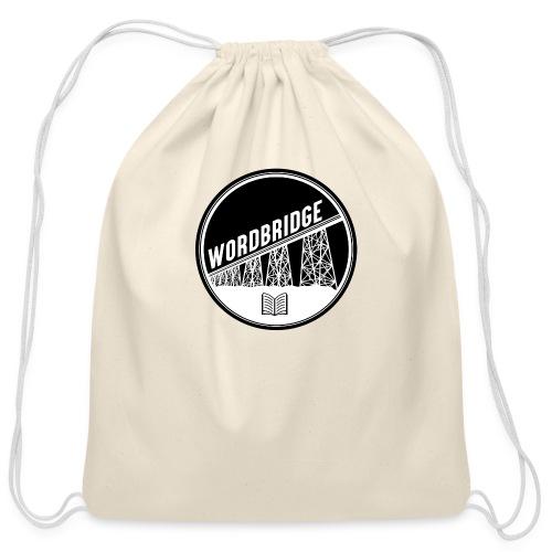 WordBridge Conference Logo - Cotton Drawstring Bag