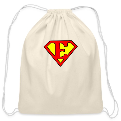 super E - Cotton Drawstring Bag