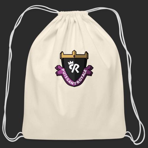 Puissant Royale Logo - Cotton Drawstring Bag