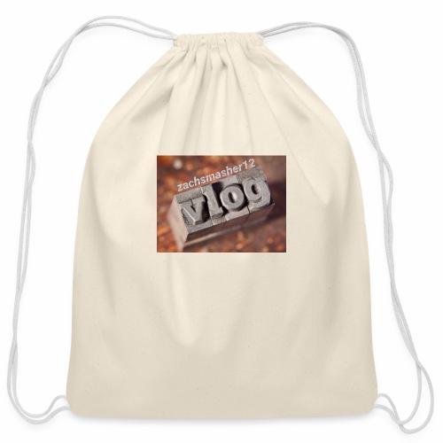 Vlog - Cotton Drawstring Bag