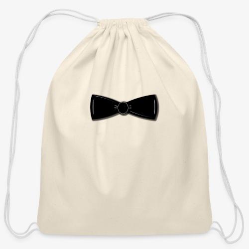 Tuxedo Bowtie - Cotton Drawstring Bag