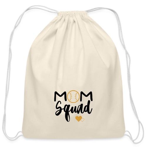 Mom Squad - Cotton Drawstring Bag