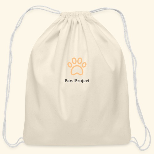 Paw Project - Cotton Drawstring Bag