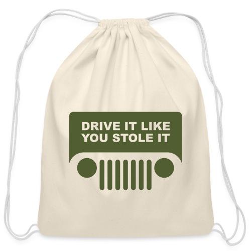 jeep - Cotton Drawstring Bag