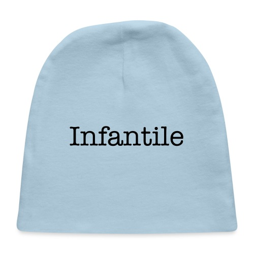 INfantile Baby Shower - Baby Cap
