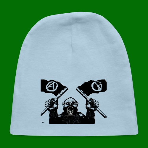anarchy and peace - Baby Cap