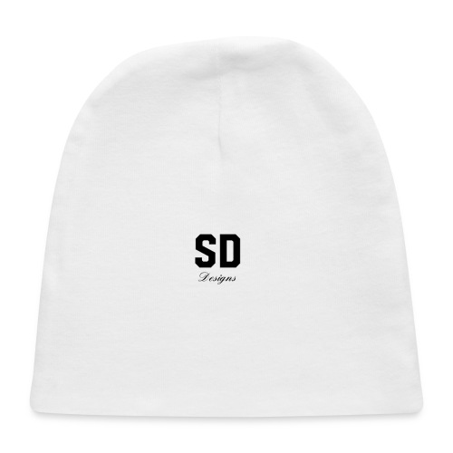 SD Designs blue, white, red/black merch - Baby Cap