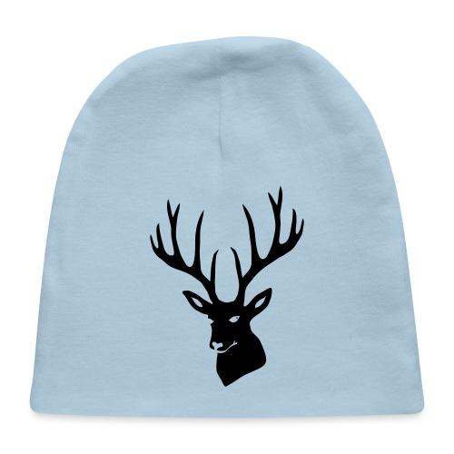 stag night deer buck antler hart cervine elk - Baby Cap