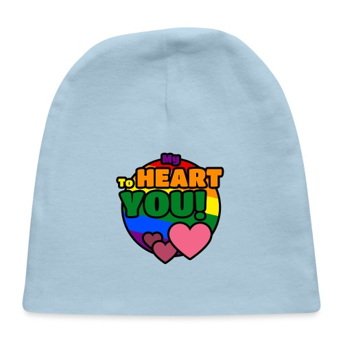 My Heart To You! I love you - printed clothes - Baby Cap