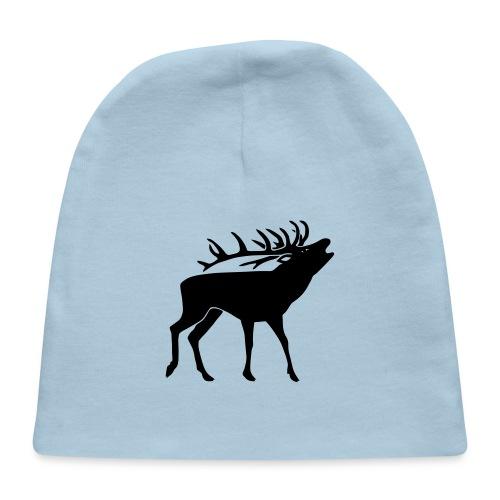 stag night deer antler buck cervine bachelor party - Baby Cap