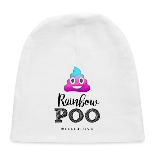 Rainbow Poo - Baby Cap
