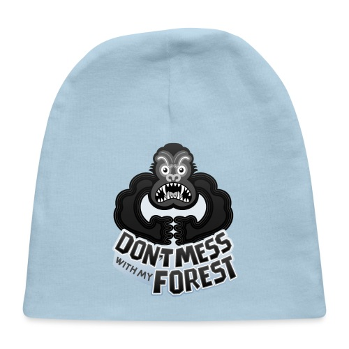Gorilla warning about not messing with his forest - Baby Cap