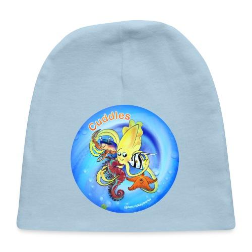 Cuddles clothes print. - Baby Cap