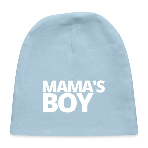 MAMA'S Boy (in white letters) - Baby Cap